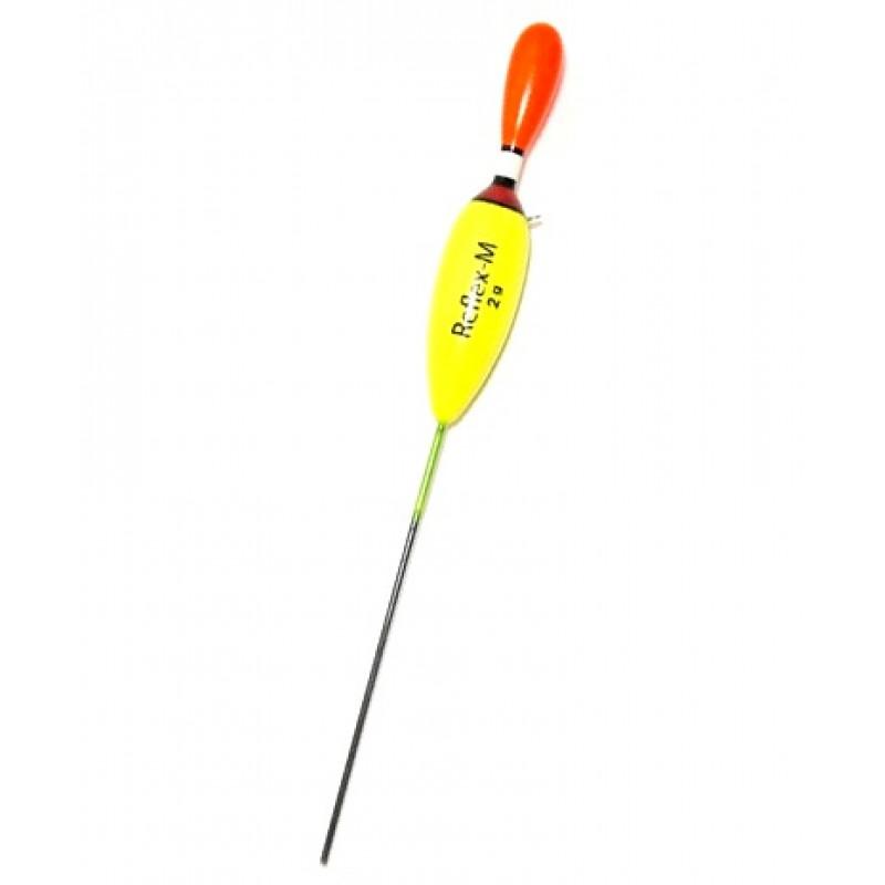 Поплавок Reflex-M 1 г из бальсы. Арт.0110/10 (упак.10шт)