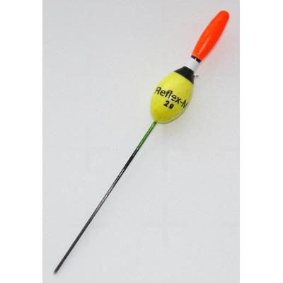 Поплавок Reflex-M 2,5 г из бальсы. Арт.0611/25 (упак.10шт)
