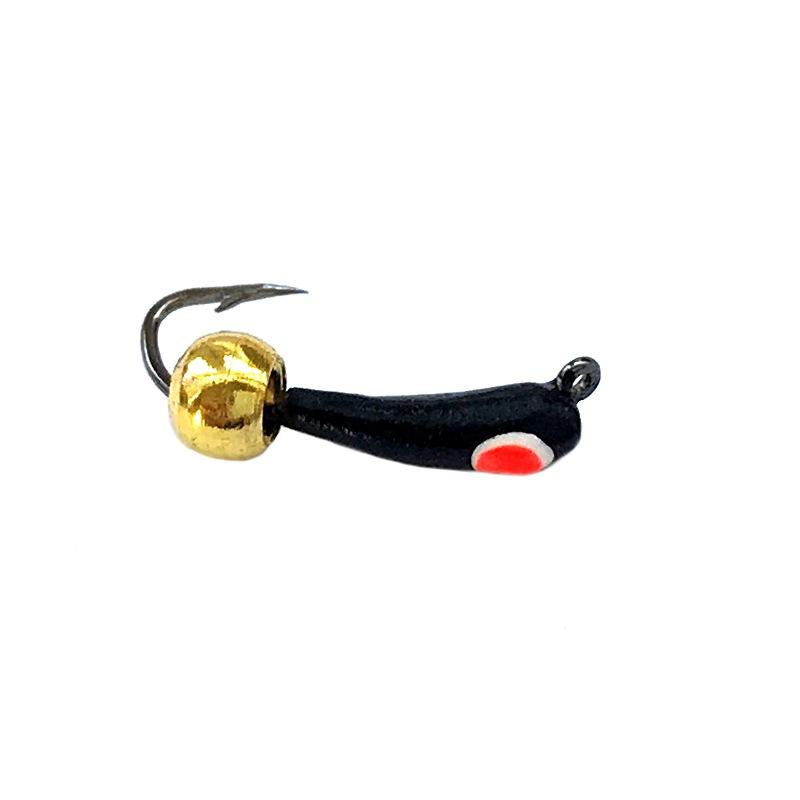 Морм.Ø 2 Банан Черн, Красный Глаз + Шар Золото 0,24гр арт.26010 (упак.12 шт)