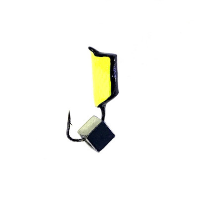 Морм.Ø3 Ст-к Черн, Лайм Брюшко + Куб Гематит Серебро 3*3мм 0,8гр арт.30961 (упак.12шт)
