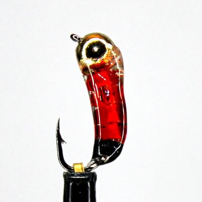Морм. 0,2 г Ручейник Красный, вольфр. арт. 21001 (упак.12шт)