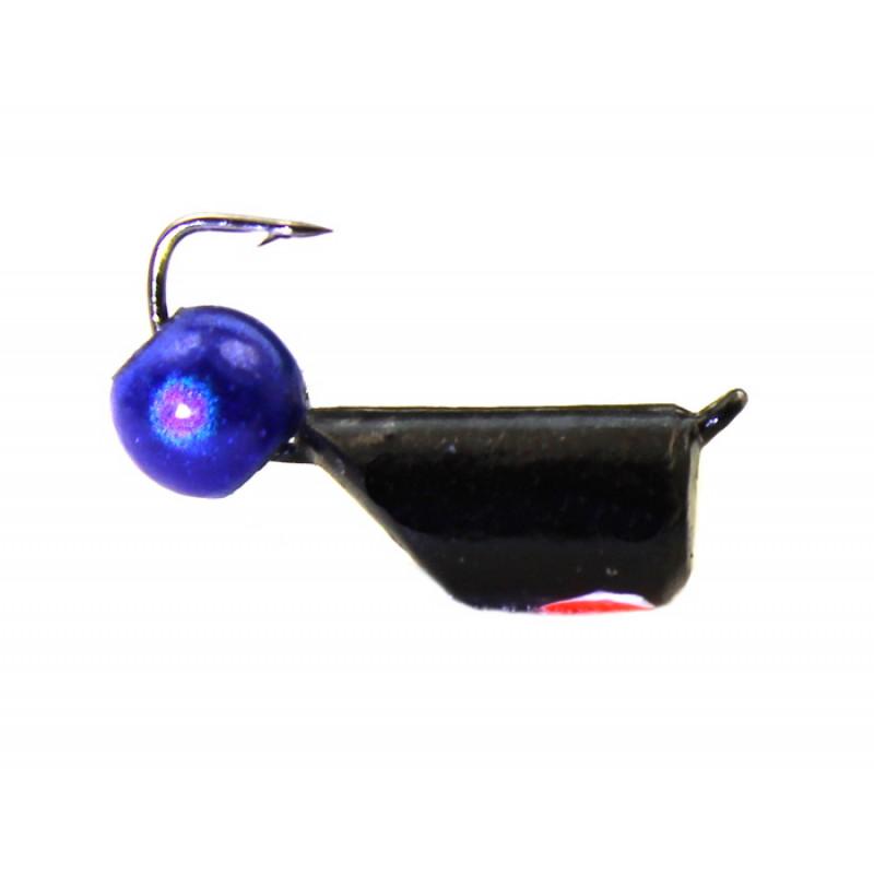 Морм.Ø4 Ст-к Черн, Красн Глаз + Шар 3D 4мм 1,5гр арт.40291 (упак.12шт)