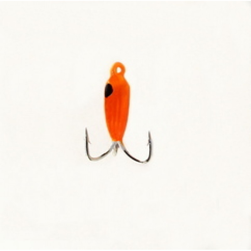 Морм.Ø2,5 Чертик Оранж, Черн Глаз 0,45гр арт.25332 (упак.12шт)