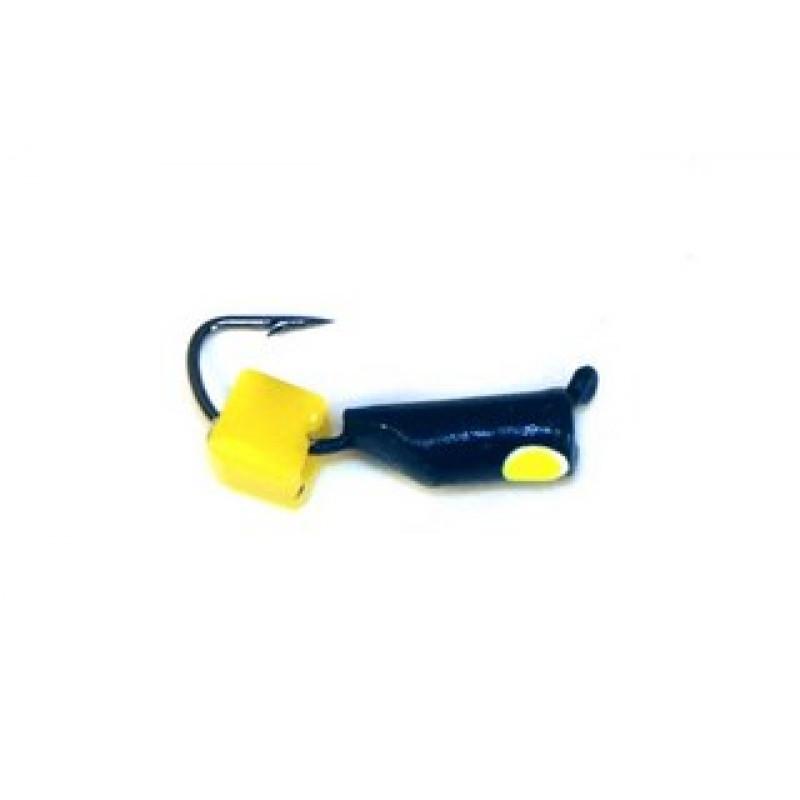 Морм.Ø2,5 Ст-к Черн, Лайм Глаз + Куб Сырный 3*3мм 0,6гр арт.25871 (упак.12шт)