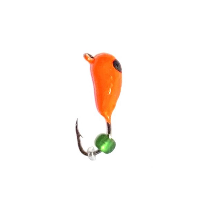 Морм.Ø3 Оса Оранж, Черн Глаз + Бисер 0,55г арт.36701 (упак.12шт)