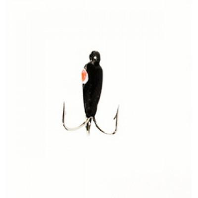 Морм.Ø2 Чертик Черный, Красн Глаз 0,3гр арт.20441 (упак.12шт)