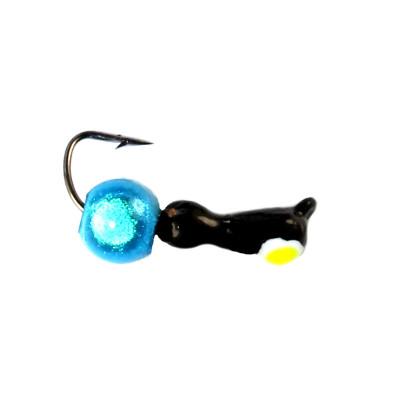 Морм.Ø2,5 Муравей Черн, Лайм Глаз + Шар 3D Ø4мм 0,4гр арт.25990 (упак.12шт)