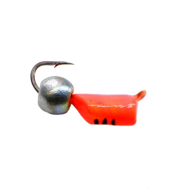 Морм.Ø3 Ст-к Оранж, Черн Полос + Шар Серебро Бензин  0,9гр арт.30647 (упак.12шт)