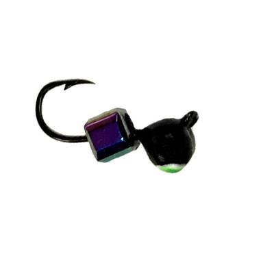 Морм.Ø 3 Дробь Черн, Зелен Глаз + Куб  Хамелеон 0,30гр арт.36507 (упак.12 шт)