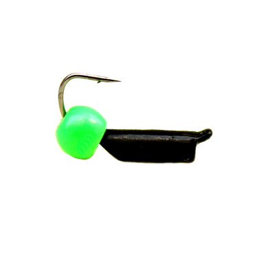 Морм.Ø2 Ст-к Черн + Шар Зеленый Ø3мм 0,45гр арт.20822 (упак.12шт)