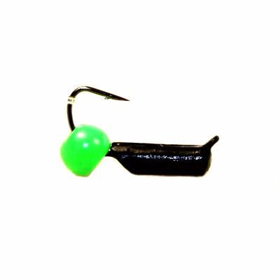 Морм.Ø2 Ст-к Черн + Шар Зеленый Ø4мм 0,5гр арт.20818 (упак.12шт)