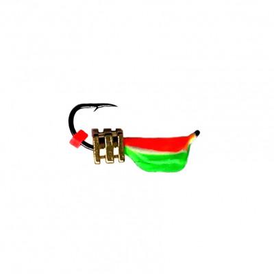 Морм.Ø3 Ст-к Зелен, Красное Брюшко + Тетро Куб Золото 0,8гр арт.30640 (упак.12шт)