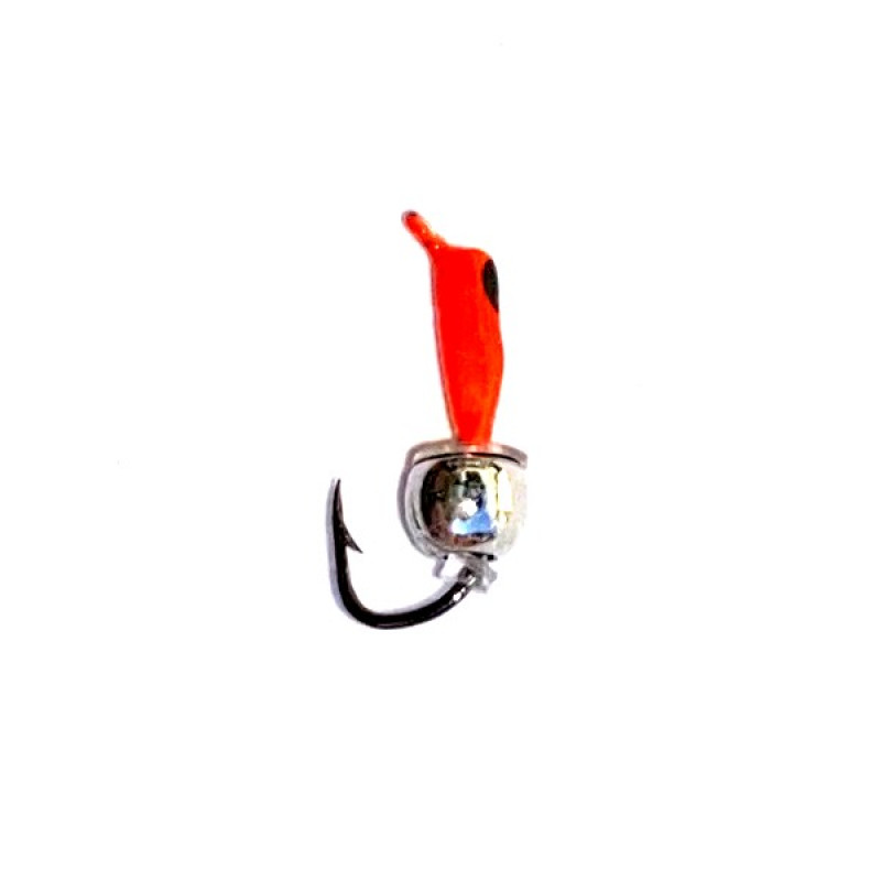 Морм.Ø 1,5 Ст-к Красн, Черн Глаз + Шар Серебро Ø3мм 0,3гр арт.15060 (упак.12шт)