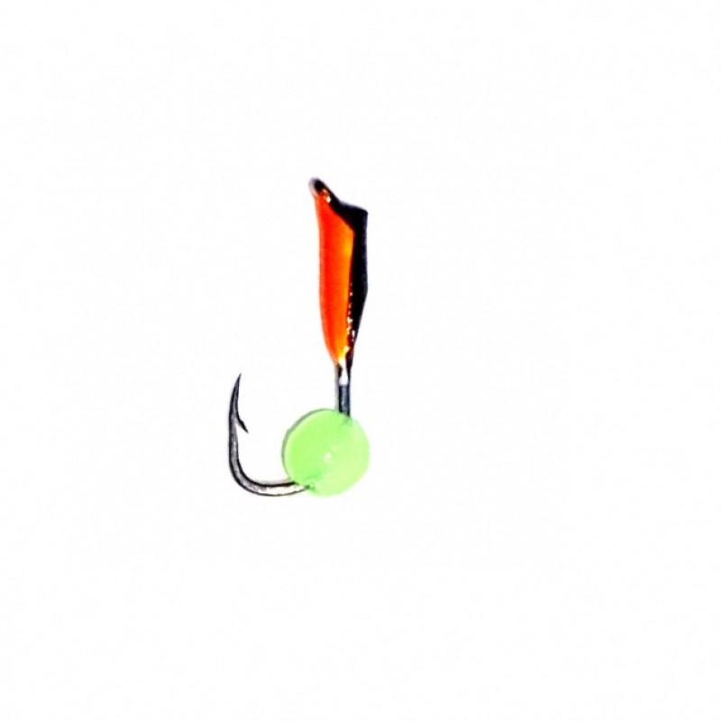 Морм.Ø 1,5 Микроб Черный, Красн Брюшко + Шар Зеленый 0,16гр арт.15014 (упак.12 шт)