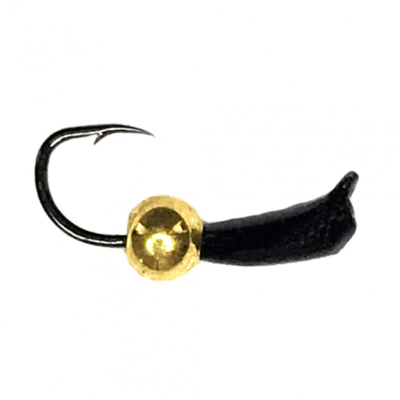 Морм.Ø 2 Банан Черн + Шар Золото 0,24гр арт.26004 (упак.12 шт)