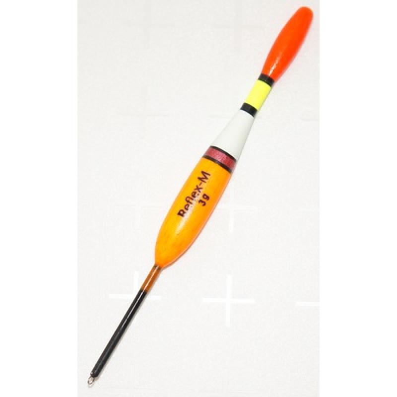 Поплавок Reflex-M 3 г из бальсы. Арт.3070/3 (упак.10шт)