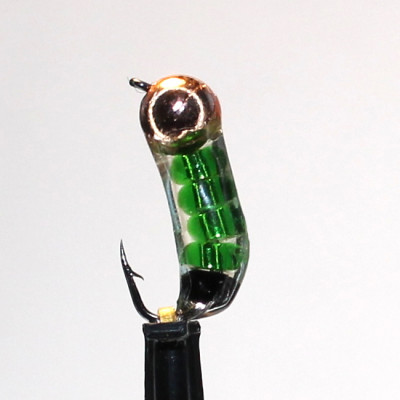 Морм. 0,6 г Ручейник Зеленый, вольфр. арт. 61001 (упак.12шт)